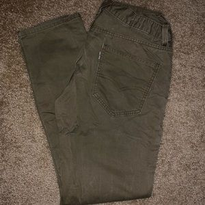 MENS LEVI'S brown jeans 32x32
